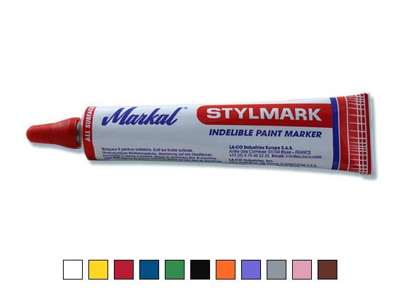 Stylmark – tube marker, red