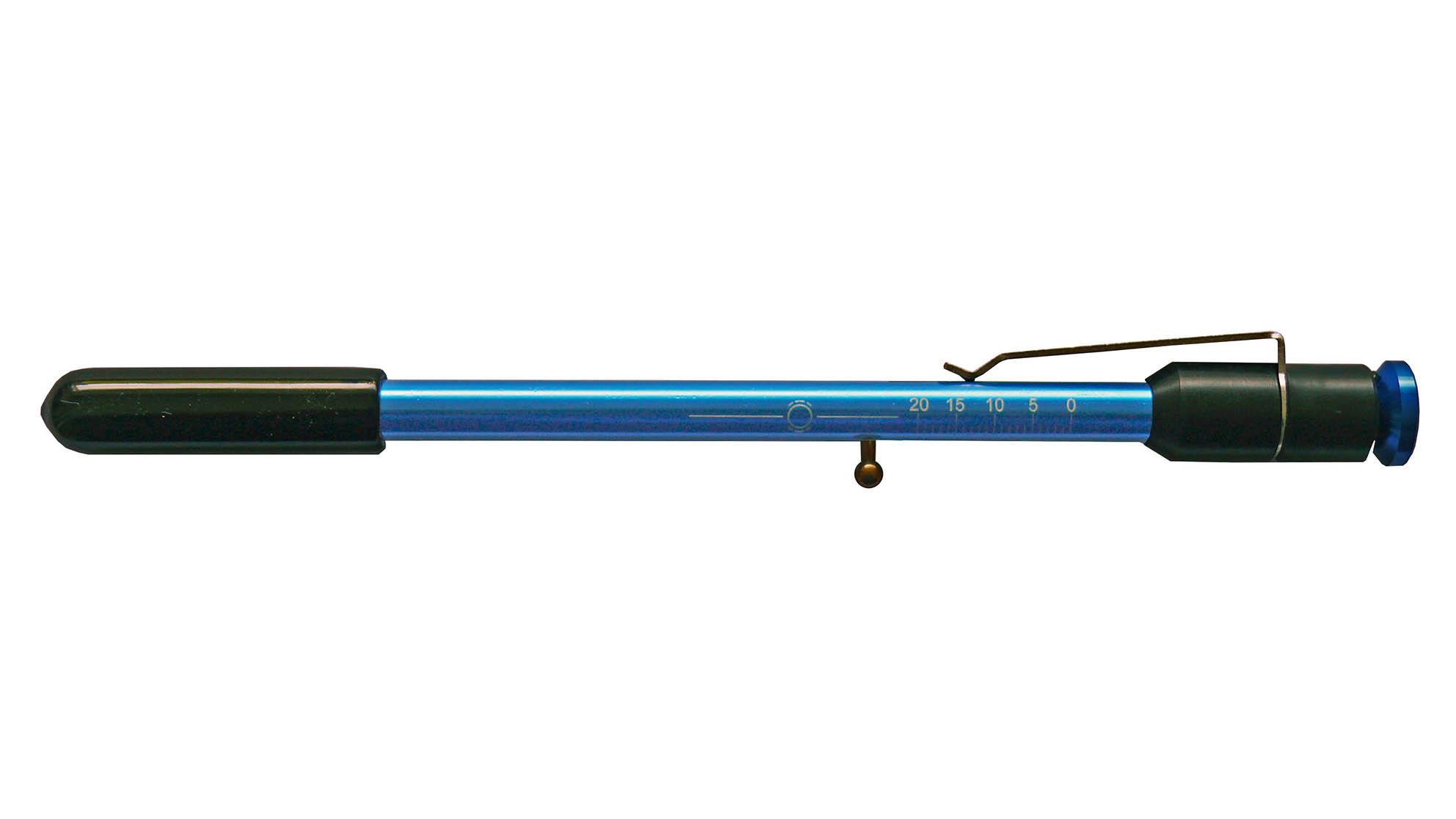 Depth gauge brake pen, 2-in-1