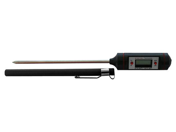 Digital AC rod thermometer