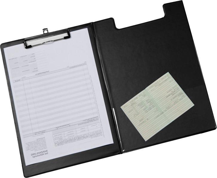 Clip folder, black