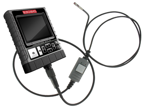 "3.5"" Monitor endoscope, ∅ 4.9 mm, 2-camera technology"