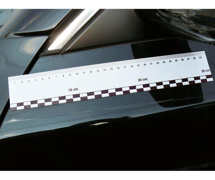 Magnetic ruler, 30 cm