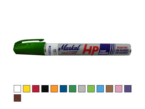 Paint-Riter + Oily Surface HP – paint marker for oily surfaces, dark green