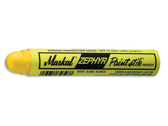 Oil crayon dent marker
