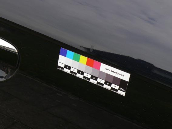 Linear colour scale, 10 cm, magnetic