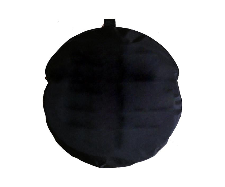 Circular, foldable dent reflector