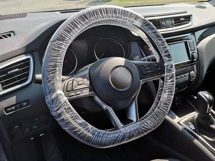 Disposable steering wheel cover, 250 pcs.