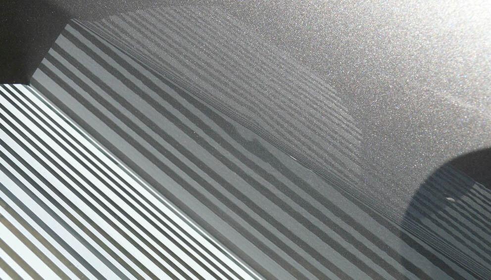 Dent card, 2-coloured (white/black)
