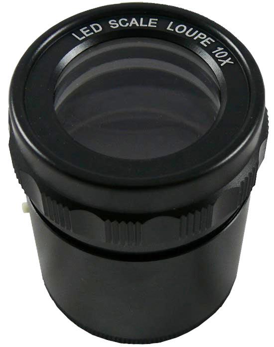 LED precision magnifier