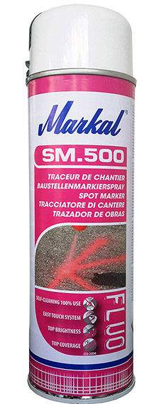 Marking spray, Markal - SM.500, white